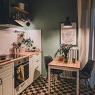 my kitchen. #kitchen #flowers