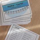 Mathe-Kartei Zahlenraum bis 20