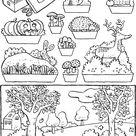 groenten kleurprenten - kiddicolour