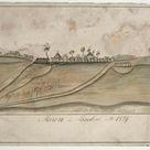 Unknown, 1829 - Maron in Baglen Ao. 1829 - fine art print - Metal print (Aluminium Dibond) / 120x80cm - 47x31