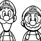 Paper Mario Coloring Pages Mario Bros - XColorings.com
