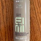 EIMI Ocean Spritz Salt Hairspray Beachy Texture New Never used 150ml size. Create natural, windswept waves with Wella Ocean Spritz Beach Texture Spray. This will leave hair looking like you just got back from the beach. Unique formula for optimal shine an