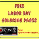 Labor Day Coloring Pages - Interactive Community Helpers coloring book pages and reading activities for students