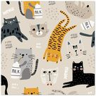 Purrr   Poster with optional frames - 35x35 cm / 14x14″ / Archival Poster