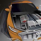 2017 Audi Q8 Sport Concept   Design Sketch