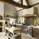 Landelijke keuken - Hoog ■ Exclusieve woon- en tuin inspiratie.