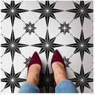 Star Tile Stencil - Geometric Cement Tile Stencils for Painting Tiles - Reusable Tile Stencils for Home Makeover - Paint Your Old Tile and Save - Floor Painting Stencils - (Small Tile Stencil 6x6)