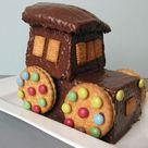 Traktor Kuchen - Rezept und Bild
