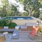 À Marseille, un jardin de 50 m2 avec piscine propice au farniente
