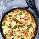 Lasagne aus der Pfanne, mit Hackflleisch, Rezept