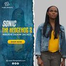 Sonic the Hedgehog 2 Maddie Denim Jacket