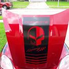 Hood Decal Stripes Fits Chevy Corvette Z06 LS2 Grand Daddy   Etsy