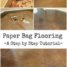 Brown Paper Bag Floor