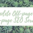I will do SEO full on-page and off-page optimization for any site
