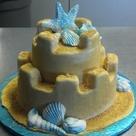 Sand Castle Cakes