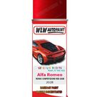 Alfa Romeo Giulietta Rosso Competizione Red Aerosol Spray Paint   Aerosol Basecoat Spray Paint 400ml