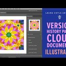 Illustrator Cloud Documents & the Version History Panel
