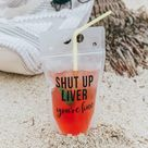 shut up liver drink pouch - 2 pack