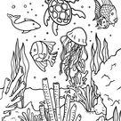 Printable Ocean Coloring Page