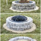 62 Feuerstelle Ideen zu DIY Günstige Feuerstelle für Ihren Garten #diyfirepit Im Freien sind ...