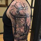 60 Hourglass Tattoo Ideas | Cuded