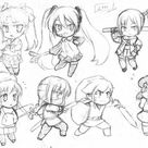 Chibi Facial Expressions by HeyIzzy11 on DeviantArt