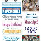 Pope Francis Quotable Greeting Card and Stickers