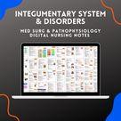 Integumentary System & Disorders Nursing Notes