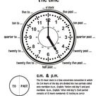 Match the clocks with the correct time no.1 - Cool Coloring Pages