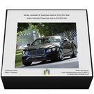 Jigsaw Puzzle. Bentley Continental GT Speed (new model for 2015), 2015, Black