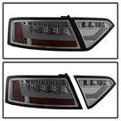 Spyder 08 12 Audi A5 LED Tail Lights   Smoke ALT YD AA508V2 LED SM