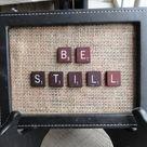 Scrabble Tile Art