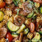 Chicken Zucchini Pasta Skillet