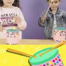 Fun and Simple DIY Drums - A Great Upcycle Instrument for Kids