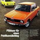 BMW 3er 1973 02er   Serie 1602 1802 2002 2002tii Plädoyer