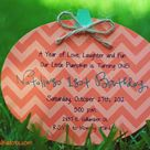 Pumpkin Invitation