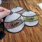 Personalized Christmas Bauble Tree Baubles Xmas Baubles   Etsy