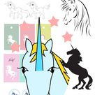 12+ free unicorn printables - Einhorn - round-up