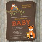 Woodland Baby Showers