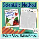 Scientific Method Back to School (Color By Number)
