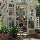 Wunderschöne Gewächshäuser aus alten Fenstern bauen :) - nettetipps.de