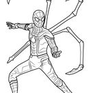Step by Step How to Draw Iron Spider from Avengers - Infinity War DrawingTutorials101.com