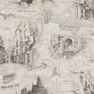 Harry Potter Map Peel and Stick Wallpaper - Sample