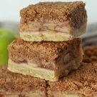 Vegan Apple Crumble Bars - BakedbyClo | Vegan Dessert Blog