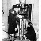 A1 Poster. Automaton at the Schoolboys Own Exhibition, 1929
