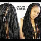 No Cornrows Crochet Braids Only 1 Hour Tutorial Video