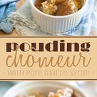 Pouding Chomeur with Pure Maple Syrup