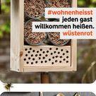 Zeigt uns euer Insektenhotel unter diymitwüstenrot
