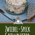 Zwiebel Speck Butter - Grillbutter Rezept