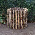 Kompost Holz aus Staketenzaun selber bauen   Adéquat